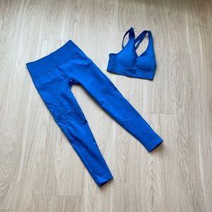 Blue Workout Set